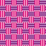 Motley plaiting. Seamless vector pattern Stock Image