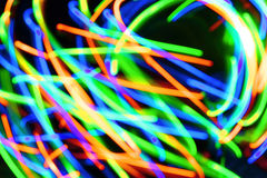 Motley spots as abstract of-focus background Royalty Free Stock Photography