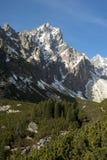 Motning in bergen Stock Afbeelding
