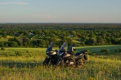 Moto旅行 免版税图库摄影