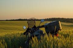 Moto旅行 免版税库存照片