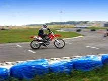 moto έξοχο Στοκ Φωτογραφίες