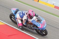 Moto3 Ана Carrasco Стоковое Изображение RF