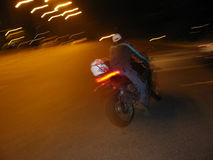 moto влияния Стоковые Фотографии RF