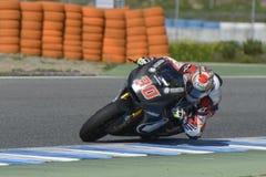 Moto2 испытание на беговой дорожке Jerez - день 2. Стоковые Изображения RF