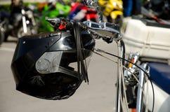 moto шлема 3d Стоковые Фотографии RF