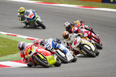 Moto 2 Grand Prix Stock Photography