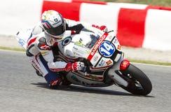Moto 2 racing stock photos