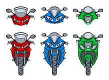 Moto illustration de vecteur