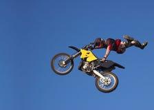 moto x 3 фристайлов Стоковая Фотография