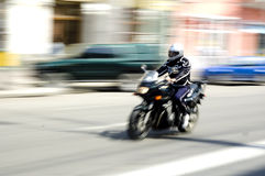 Moto Photographie stock libre de droits