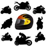 Moto illustration stock