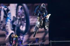 Moto acrobat Royalty Free Stock Images