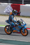 Moto3. Alex Marquez Royalty Free Stock Photos