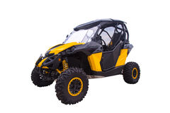 Moto all-terrain. Royalty Free Stock Images