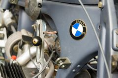 Moto allemande BMW R11 de l'année 1932 Images stock