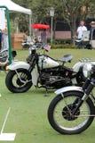 Moto américaine de hd de vintage Images libres de droits