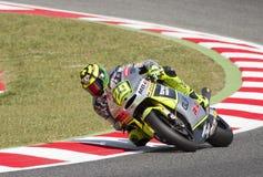 Moto 2 - Andrea Iannone Fotografia Stock