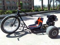 Moto-Antrieb Trike stockbild