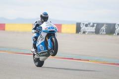 Moto2 Axel Pons Fotografia Royalty Free