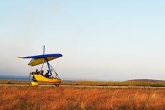 Moto Bedeutungssegelflugzeug Stockfoto