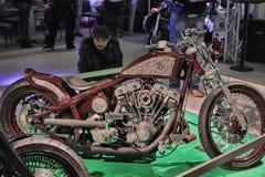 Moto Bike Expo Royalty Free Stock Photos