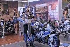 Moto Bike Expo Stock Photo
