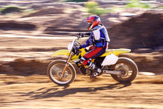 Moto x blurred Royalty Free Stock Photography