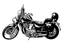 Moto clásica libre illustration