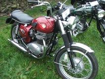 MOTO CLASSIQUE Image libre de droits