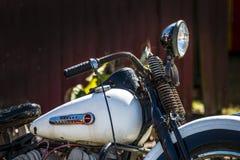 Moto classique de harley images stock