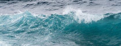 Moto congelato delle onde di oceano fuori dalle Hawai Immagine Stock Libera da Diritti