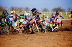 Moto cross Royalty Free Stock Photos