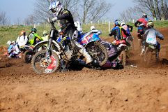 Moto cross Royalty Free Stock Photo