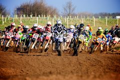 Moto cross Stock Image