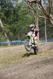 Moto-cross rider Stock Photography