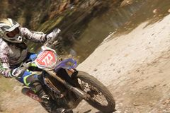 Enduro season Royalty Free Stock Photos