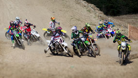 Moto cross Royalty Free Stock Image