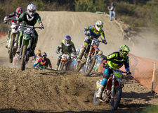 Moto cross Royalty Free Stock Photography