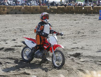 Moto cross younster Royalty Free Stock Photography