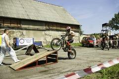 Moto crossing Stock Photos