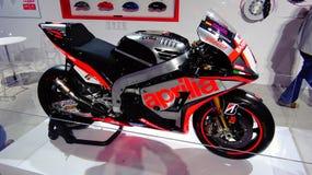 Moto d'Aprilia Photographie stock libre de droits