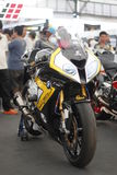 Moto dans la motocyclette 2014 Images stock