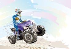 Moto de ATV Imagen de archivo libre de regalías