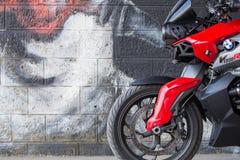 Moto de BMW de sport Photographie stock libre de droits