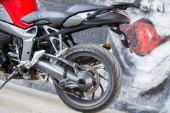 Moto de BMW de sport Photos libres de droits