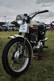 Moto 1958 de classique de vintage de Triumph Photographie stock