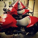 Moto de Ducati Foto de archivo libre de regalías