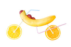 Moto de fruit Images stock
