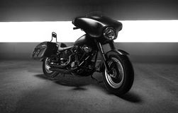 Moto de Harley Davidson Photographie stock